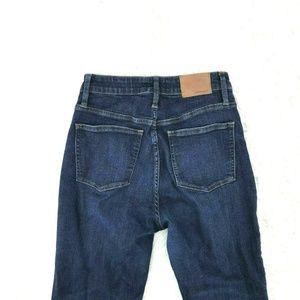 J Crew Curvy Toothpick Jeans Sz 29 X 27 In CD21